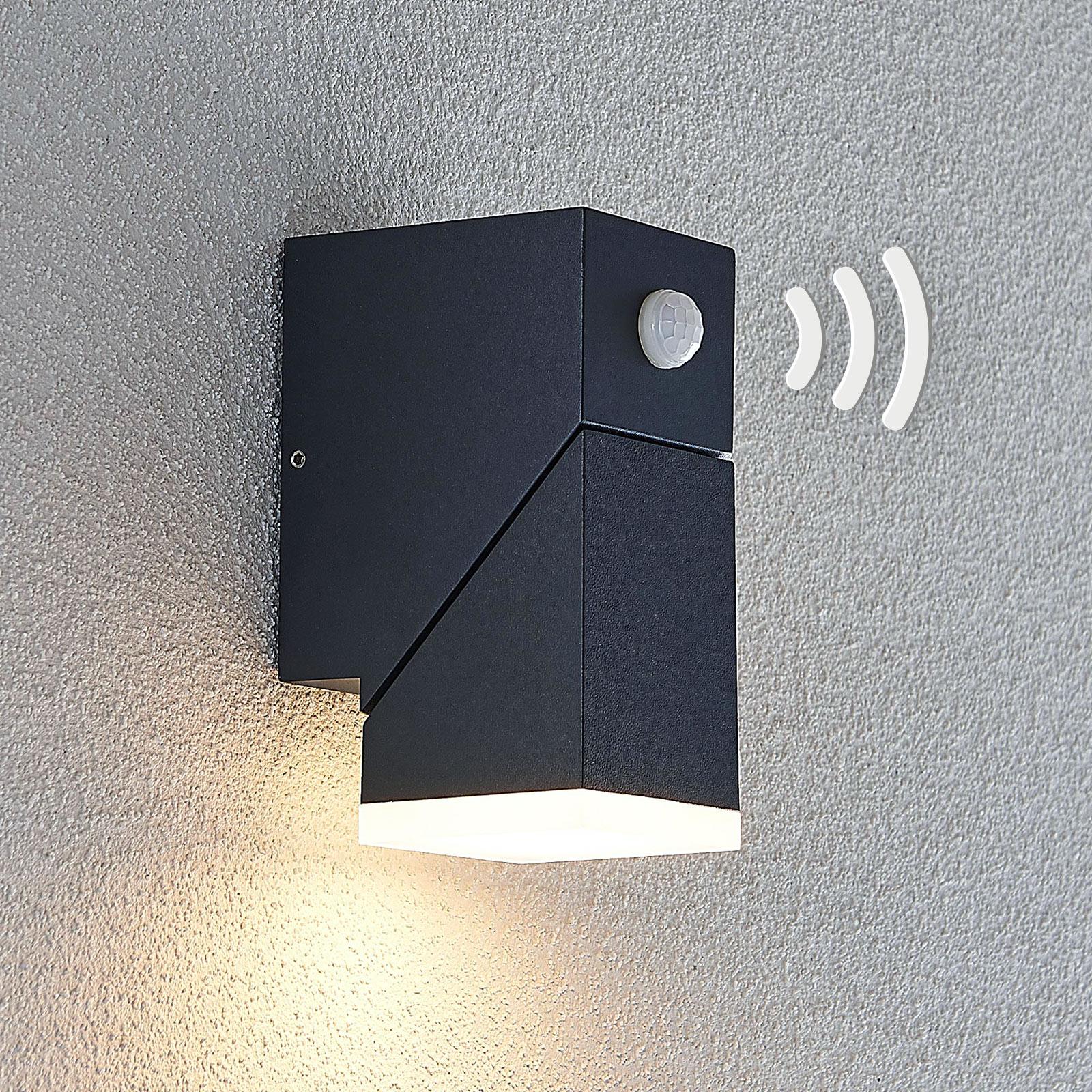 LED-Außenwandleuchte Sally, 1-flammig mit Sensor