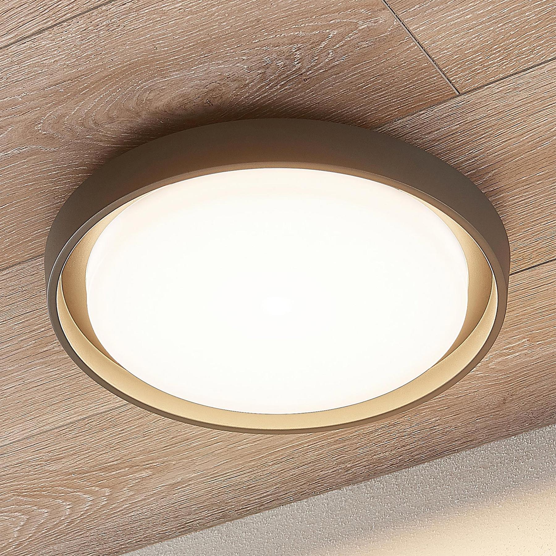 Lampa sufitowa LED Birta, okrągła, 34 cm