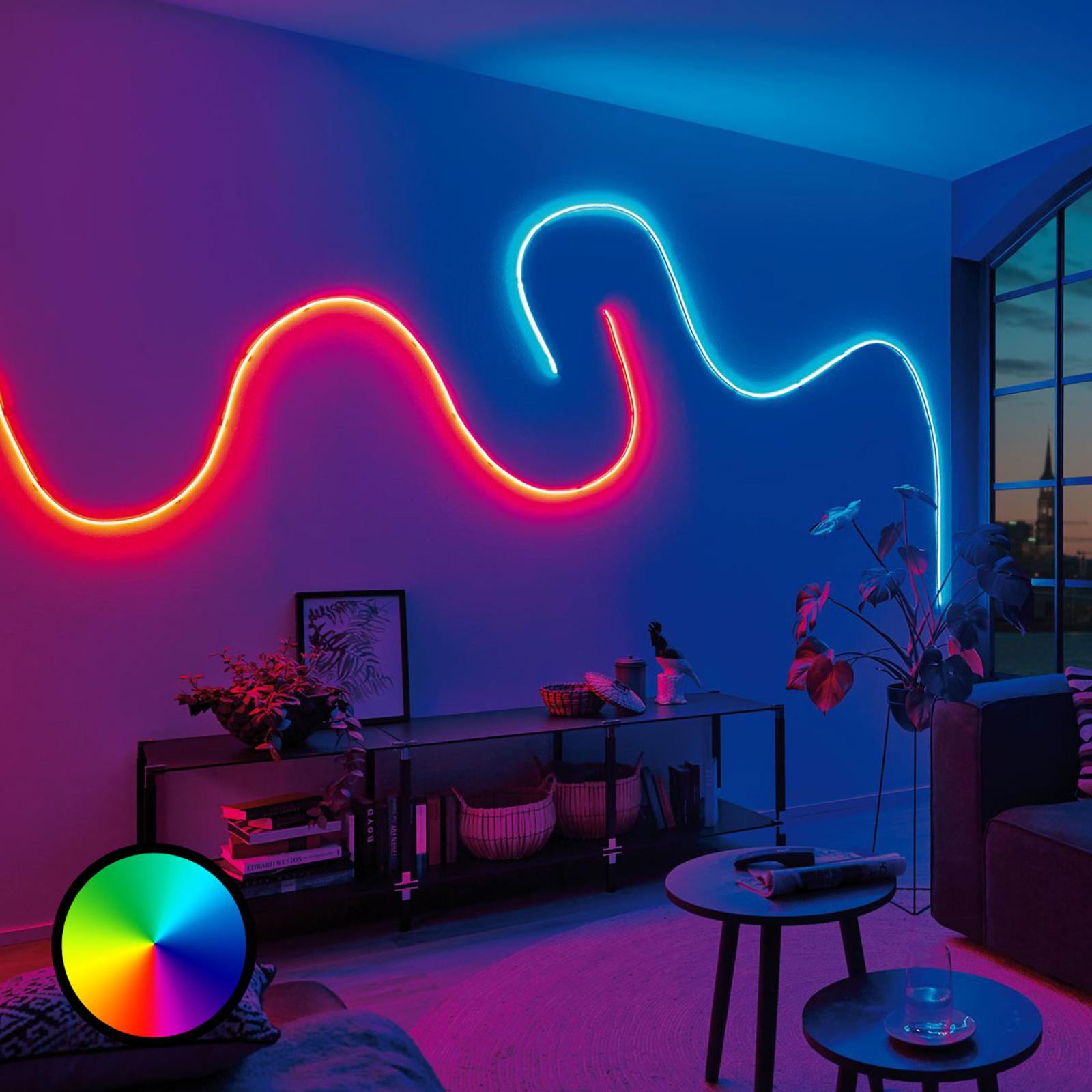 Paulmann MaxLED Flow -perussetti RGB 1,5 m