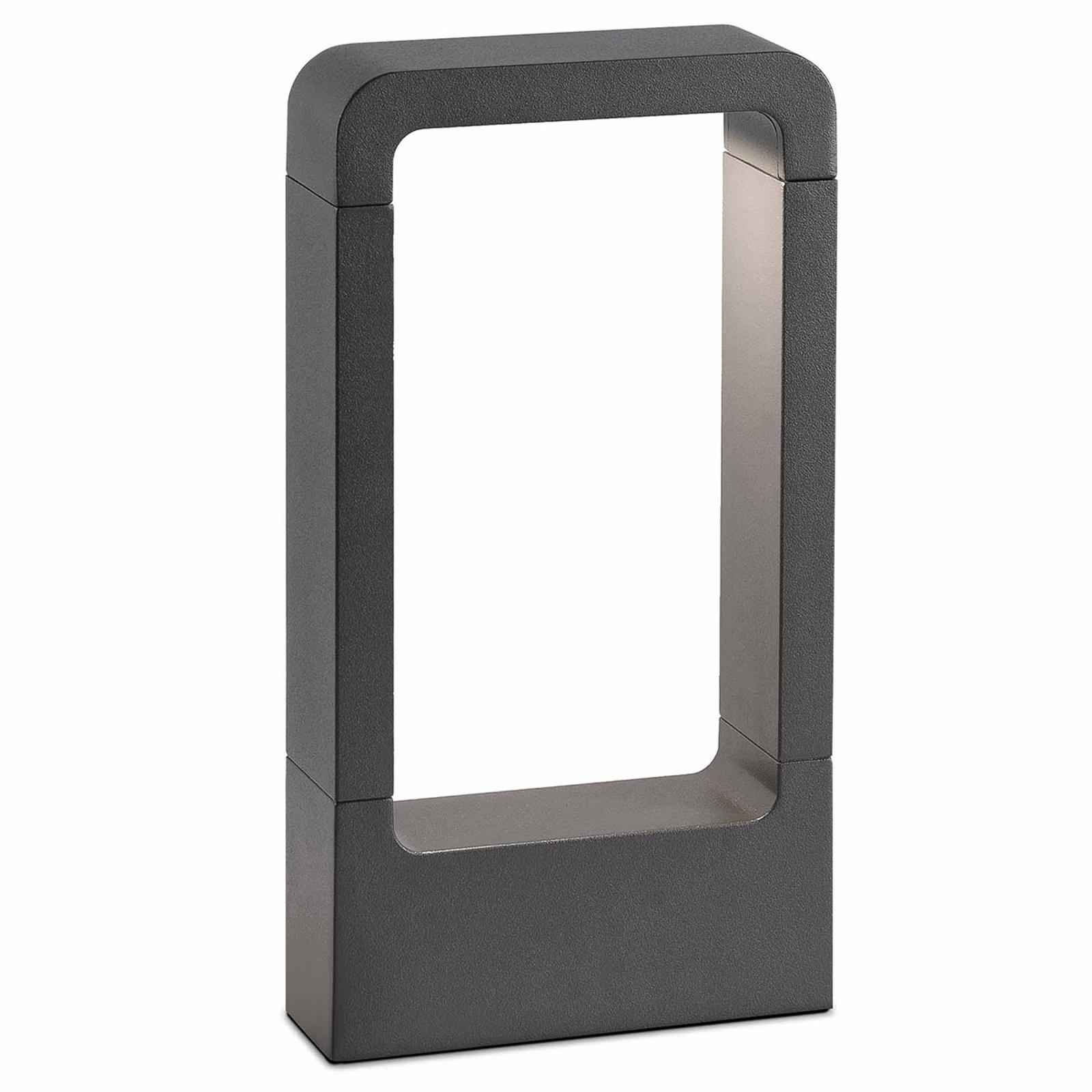 Das – purystyczny słupek oświetleniowy z aluminium