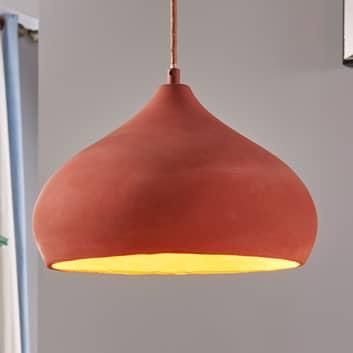 Hermosa lámpara suspendidaFiona de terracota