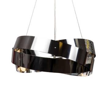 Lampada sospensione Tornado nichel-cromo 50cm