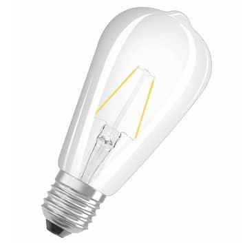 OSRAM LED E27 2,5W rustica 827 trasparente