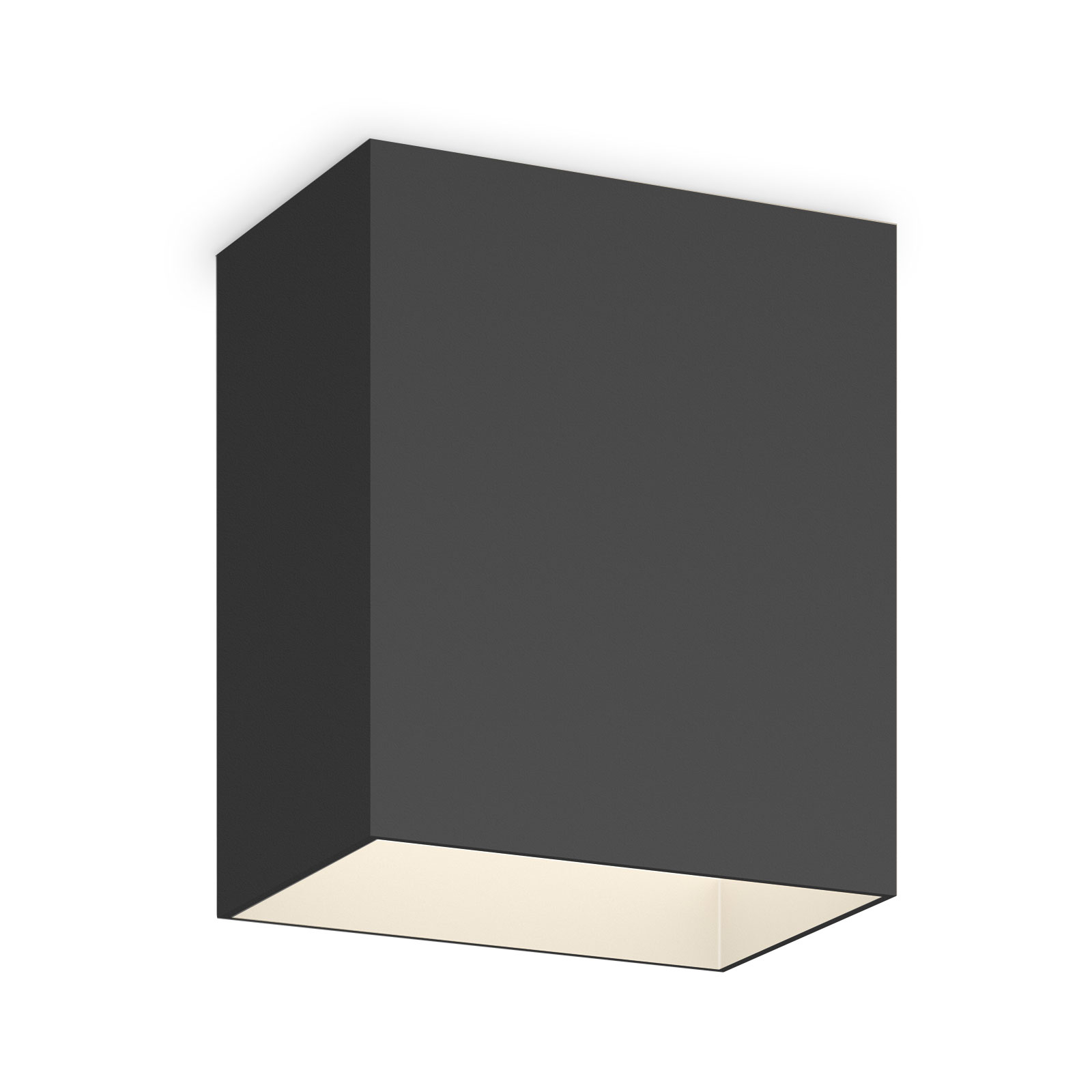 Vibia Structural 2630 plafondlamp 18cm donkergrijs