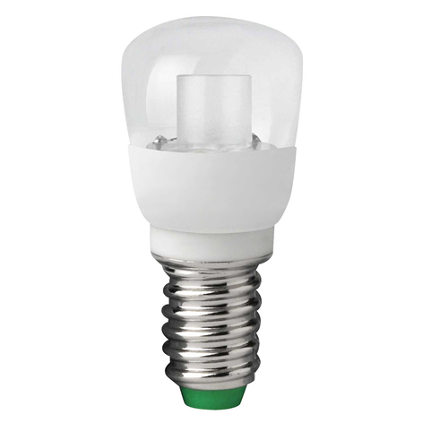E14 2W 828 LED koelkastlamp MEGAMAN Classic