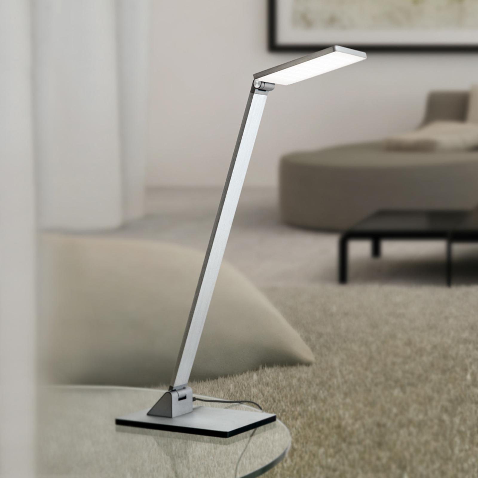 Lampada da tavolo LED Ayana, dimmer 4 livelli