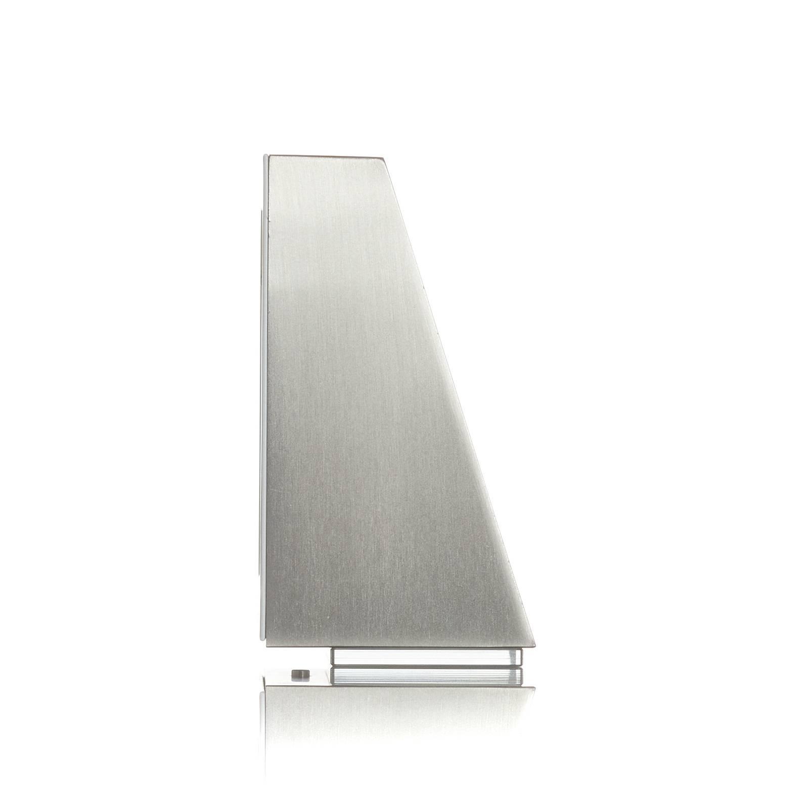 BEGA 78052 applique trapèze 3000K 18cm acier 510lm