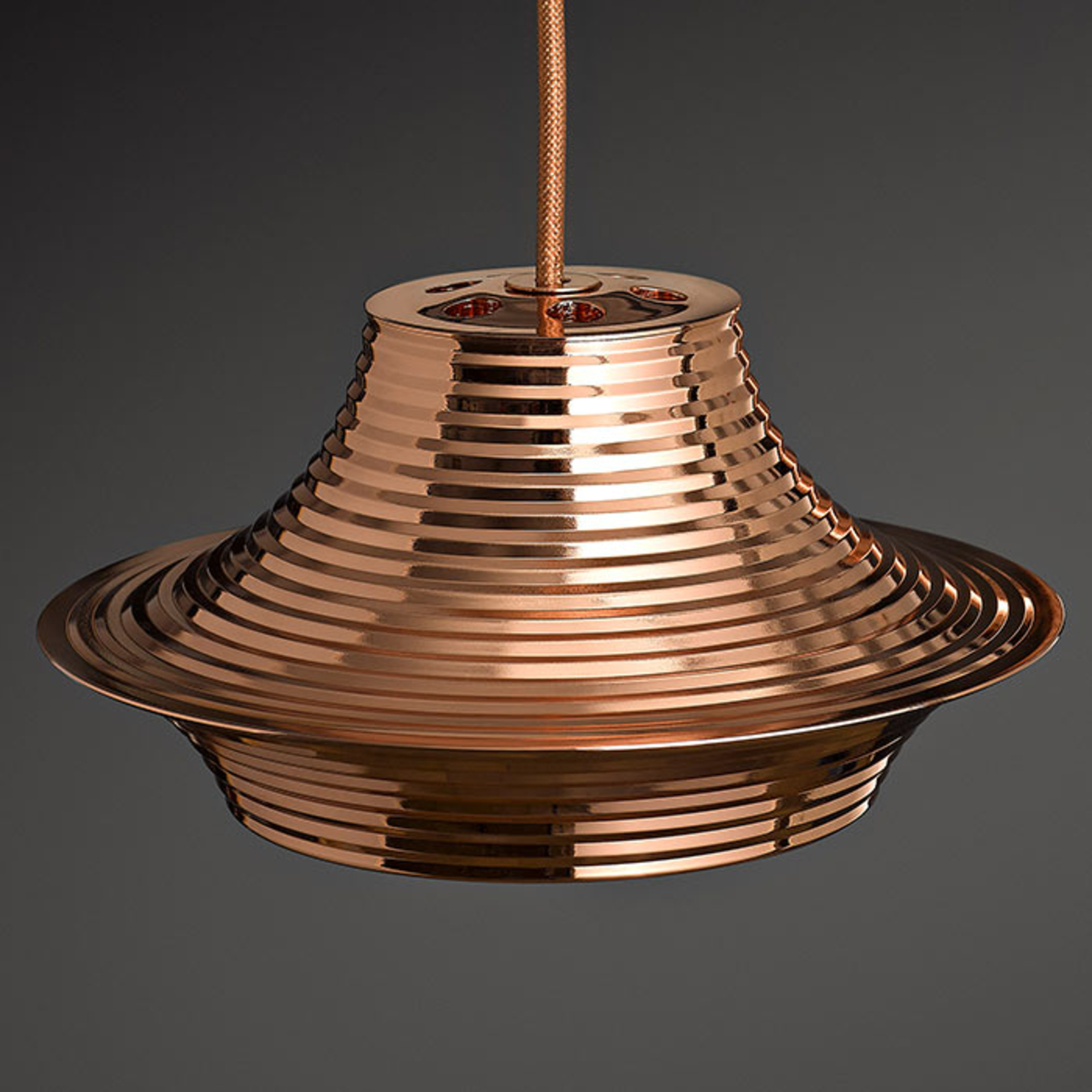 Bover Tibeta 03 - LED hanglamp in koper