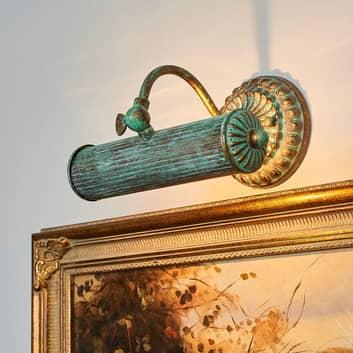 Billedlampe Beno i spanskgrønt optik