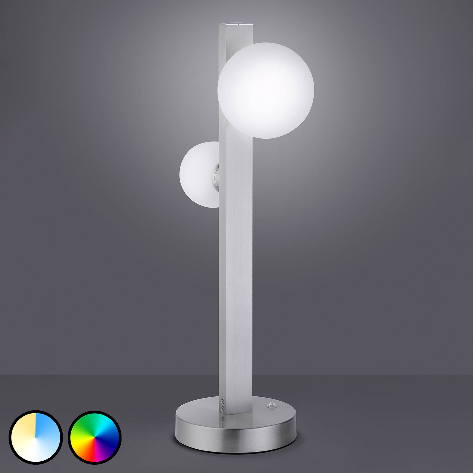 Trio WiZ Dicapo LED tafellamp, 2-lamps