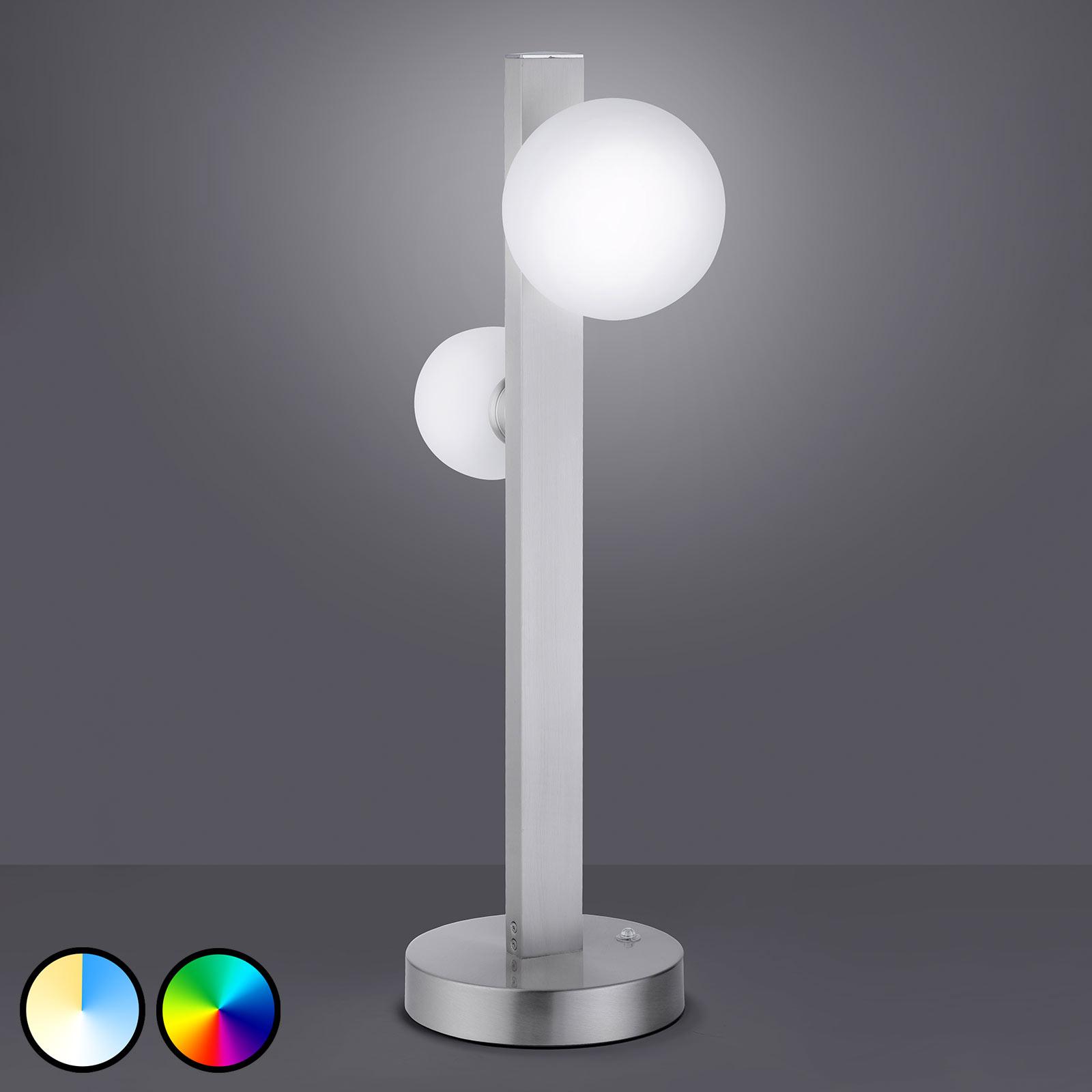 Trio WiZ Dicapo LED-Tischleuchte, zweiflammig