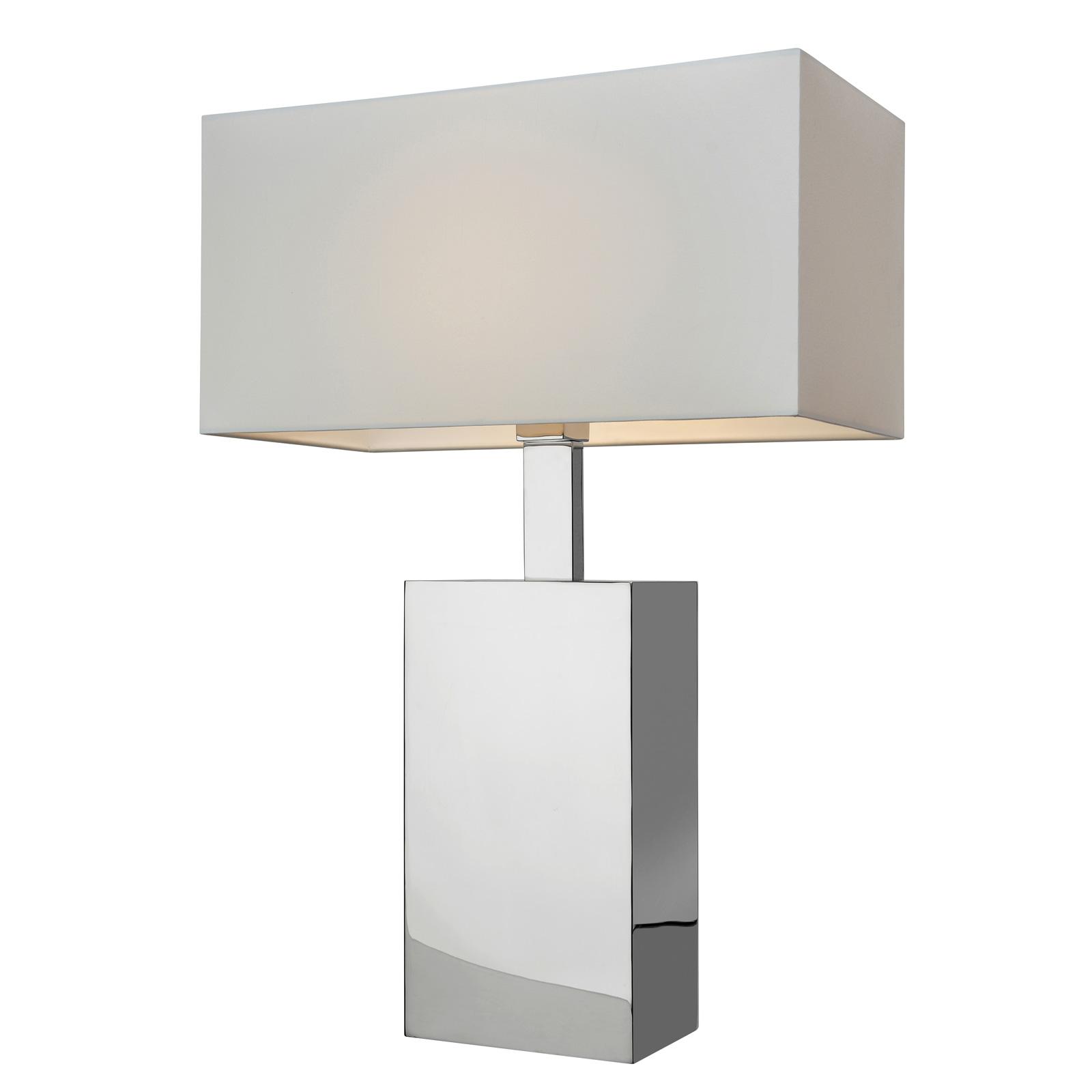 Tafellamp Block, hoogte 66 cm