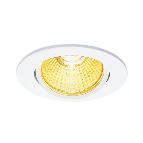 SLV New Tria 68 lampe encastrée LED ronde, blanche