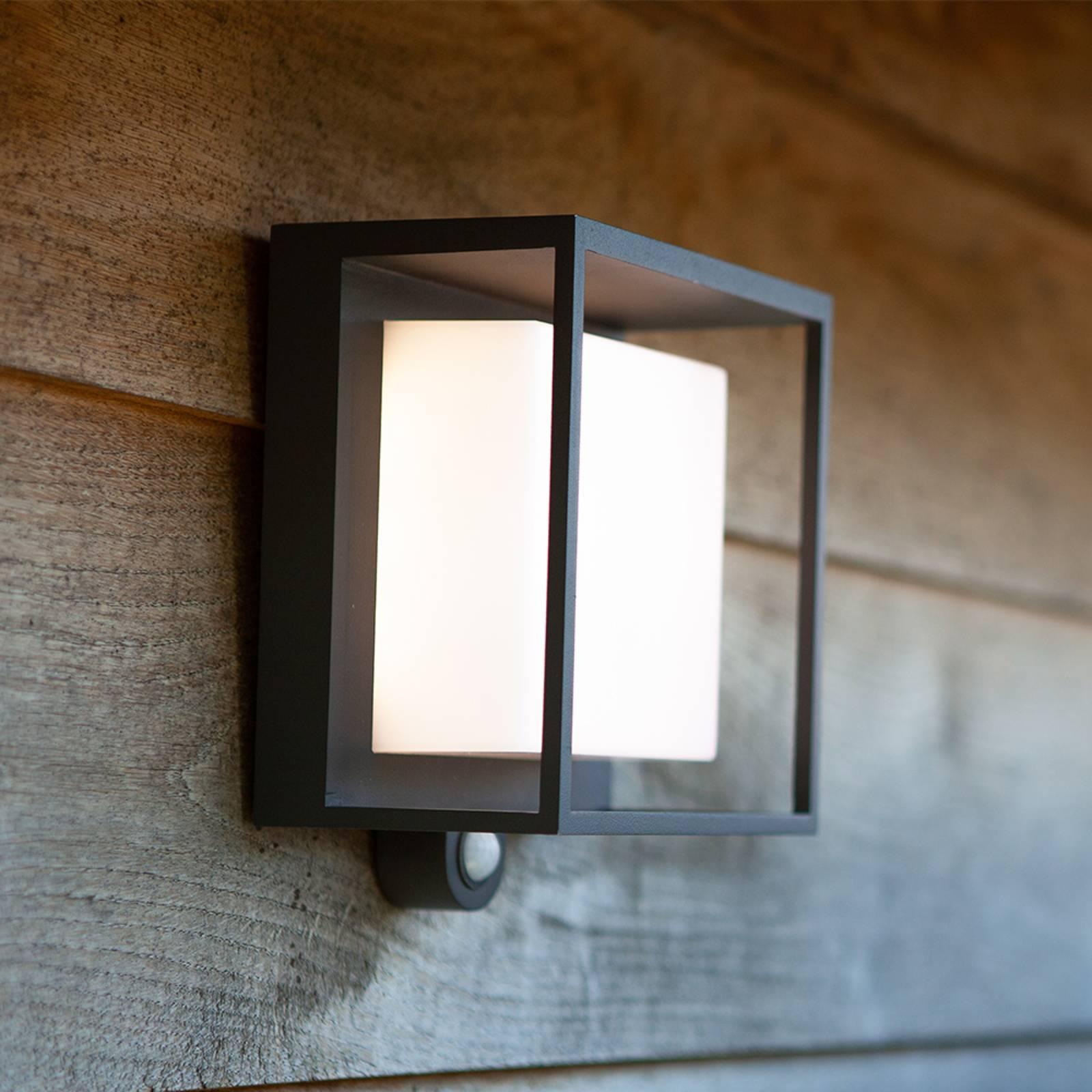 Lampa solarna LED Curtis z czujnikiem ruchu