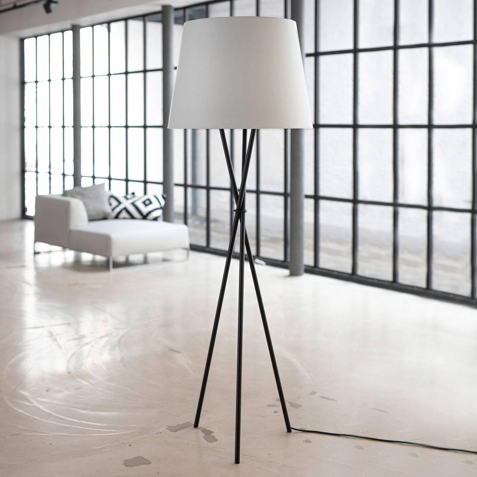 Ozonos Hailey lampa stojąca LED kremowa AC-1 Plus