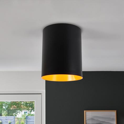 Plafonnier LED de designer Tagora cylindrique