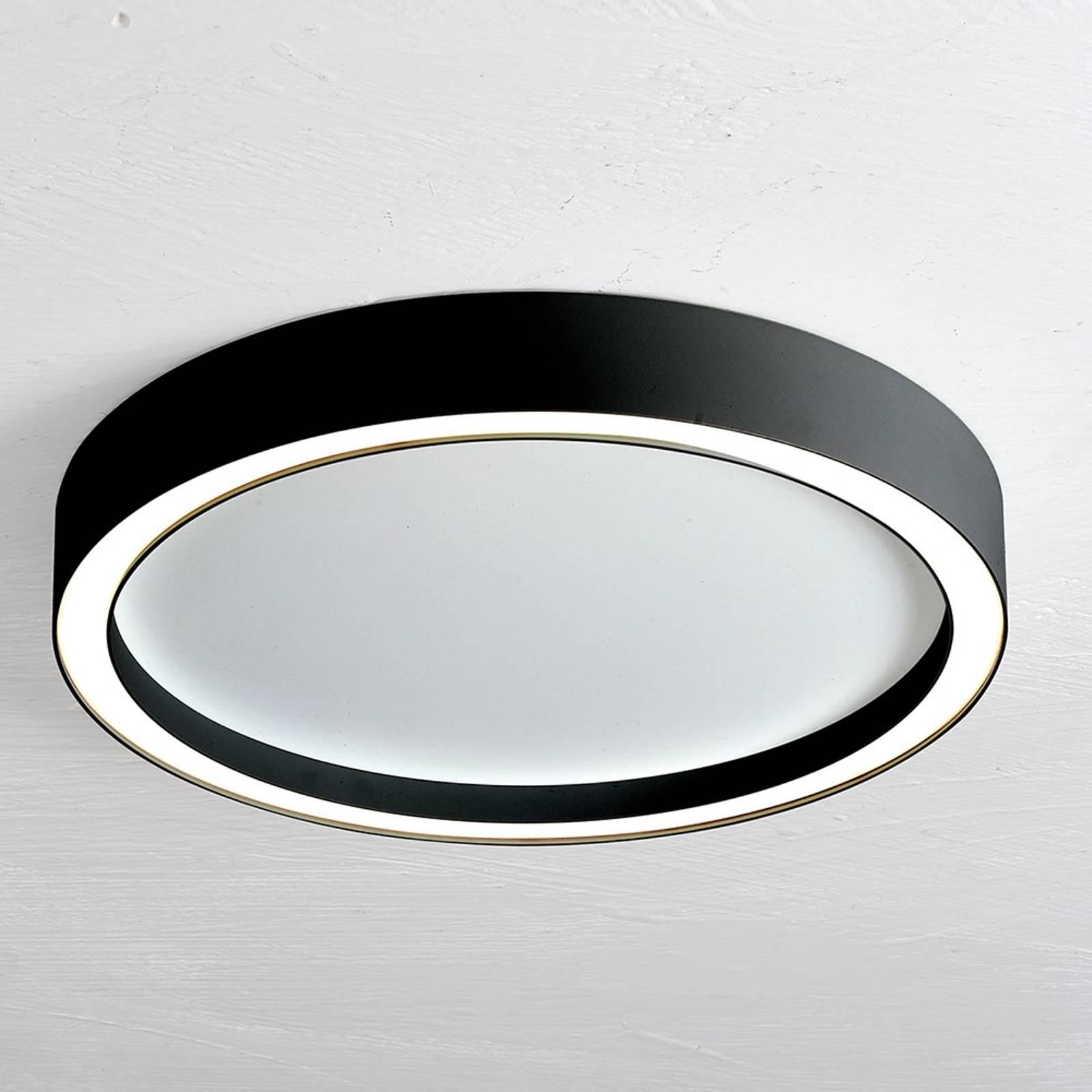Bopp Aura lampa sufitowa LED Ø 30cm biała/czarna