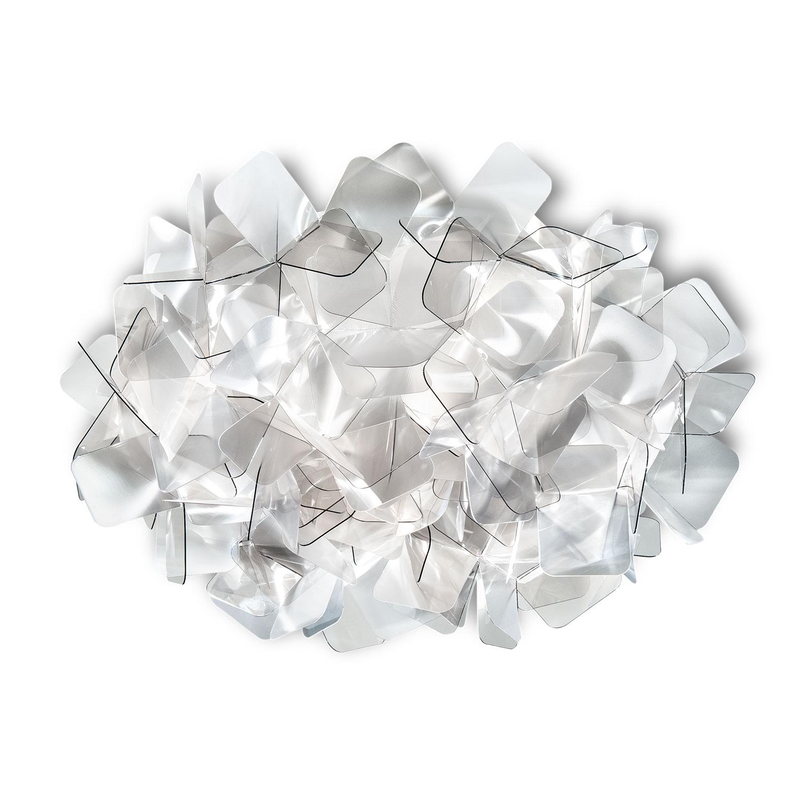 Slamp Clizia stropní světlo, Ø 32 cm, fumé