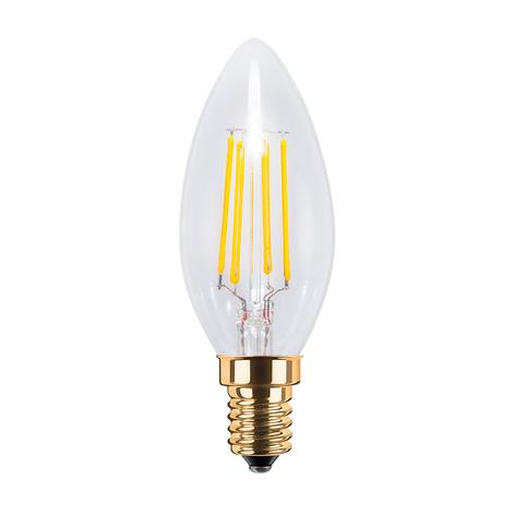 LED-mignonpære E14 4 W 2200 K 320 lm klar