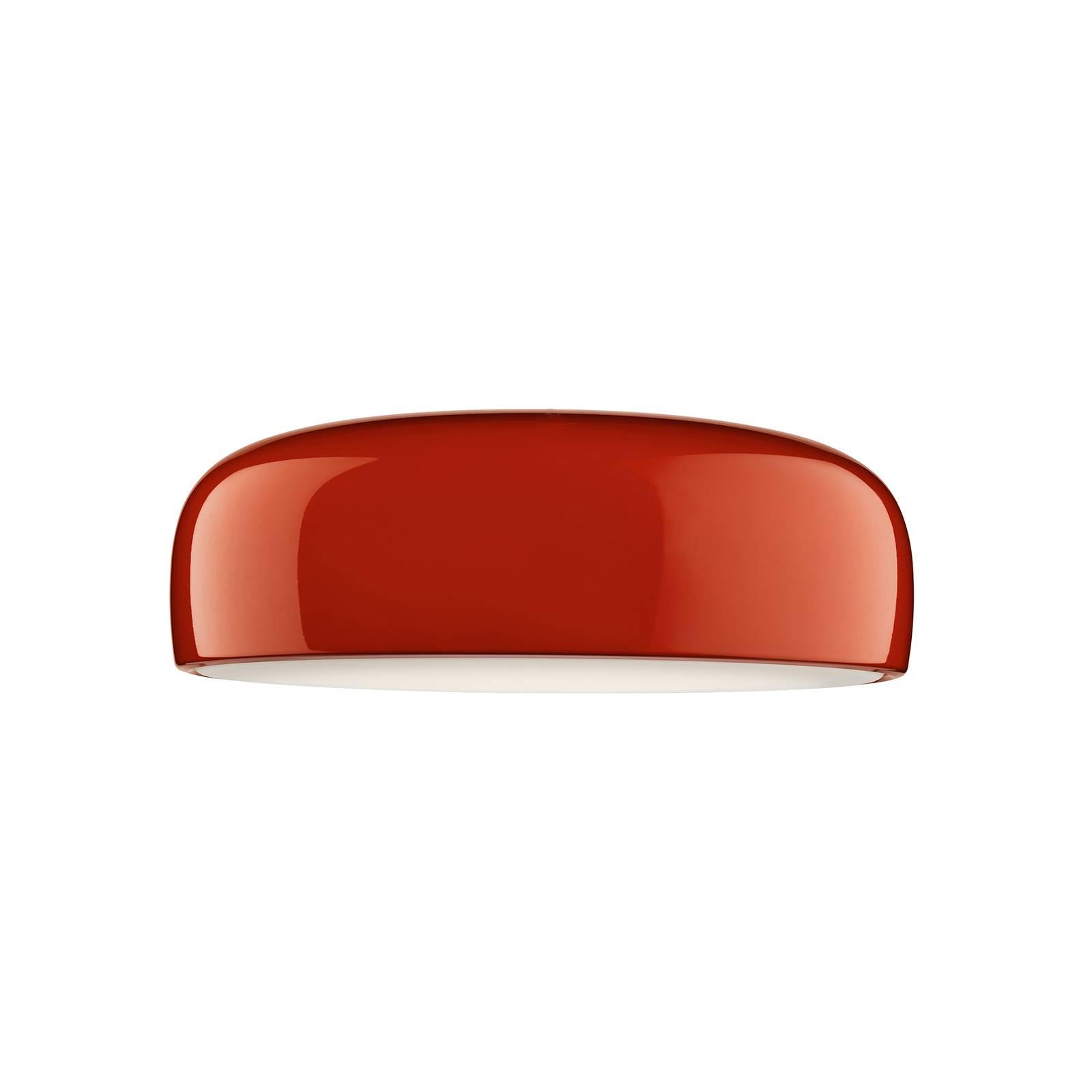 FLOS Smithfield C Pro DALI LED-Deckenleuchte, rot