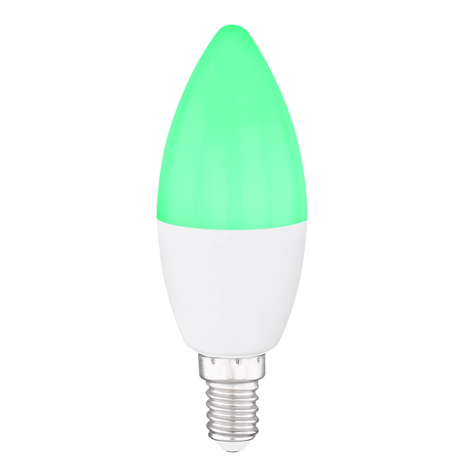 LED-Kerzenlampe E14, 4,5W Tuya-Smart RGBW CCT