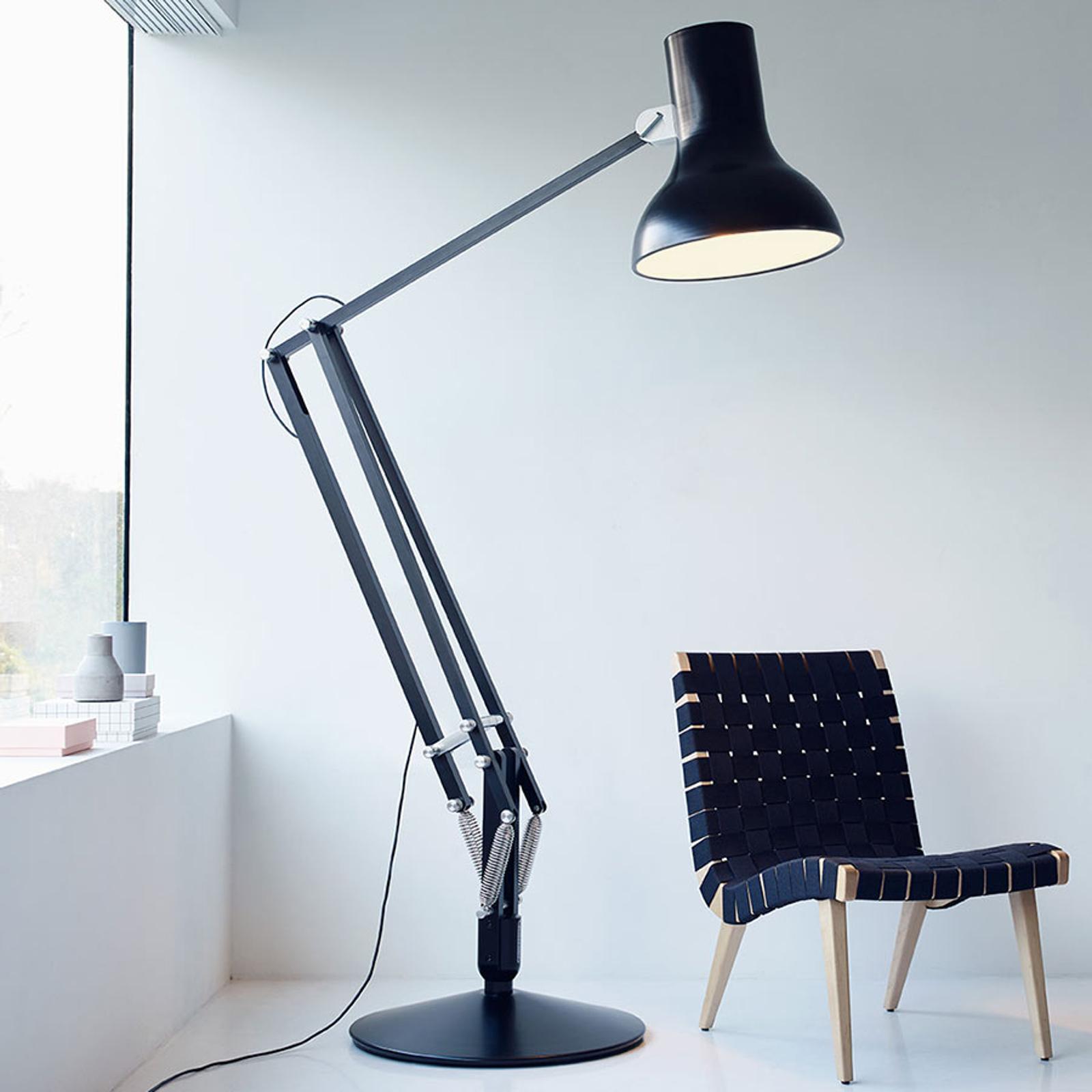 Anglepoise Type 75 Giant lampa stojąca czarna