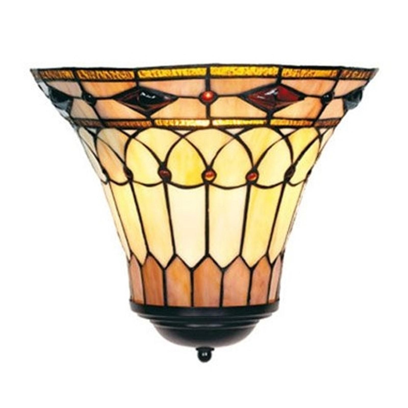 Tiffany styl nástěnné světlo MEDUSA