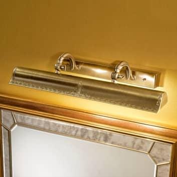 Guldfärgad tavellampa Galleria