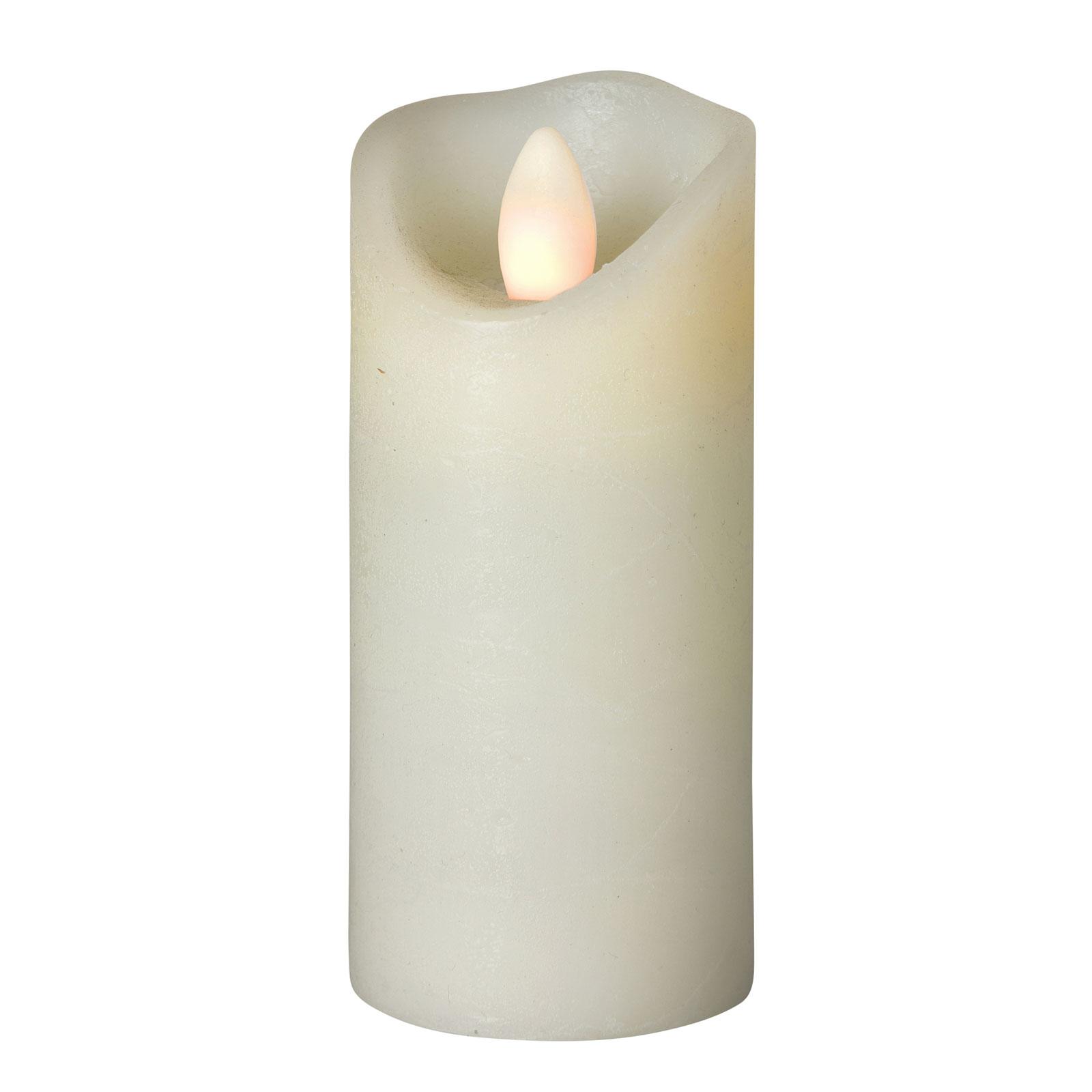 LED-Kerze Shine, Ø 5 cm, elfenbein, Höhe 12,5 cm