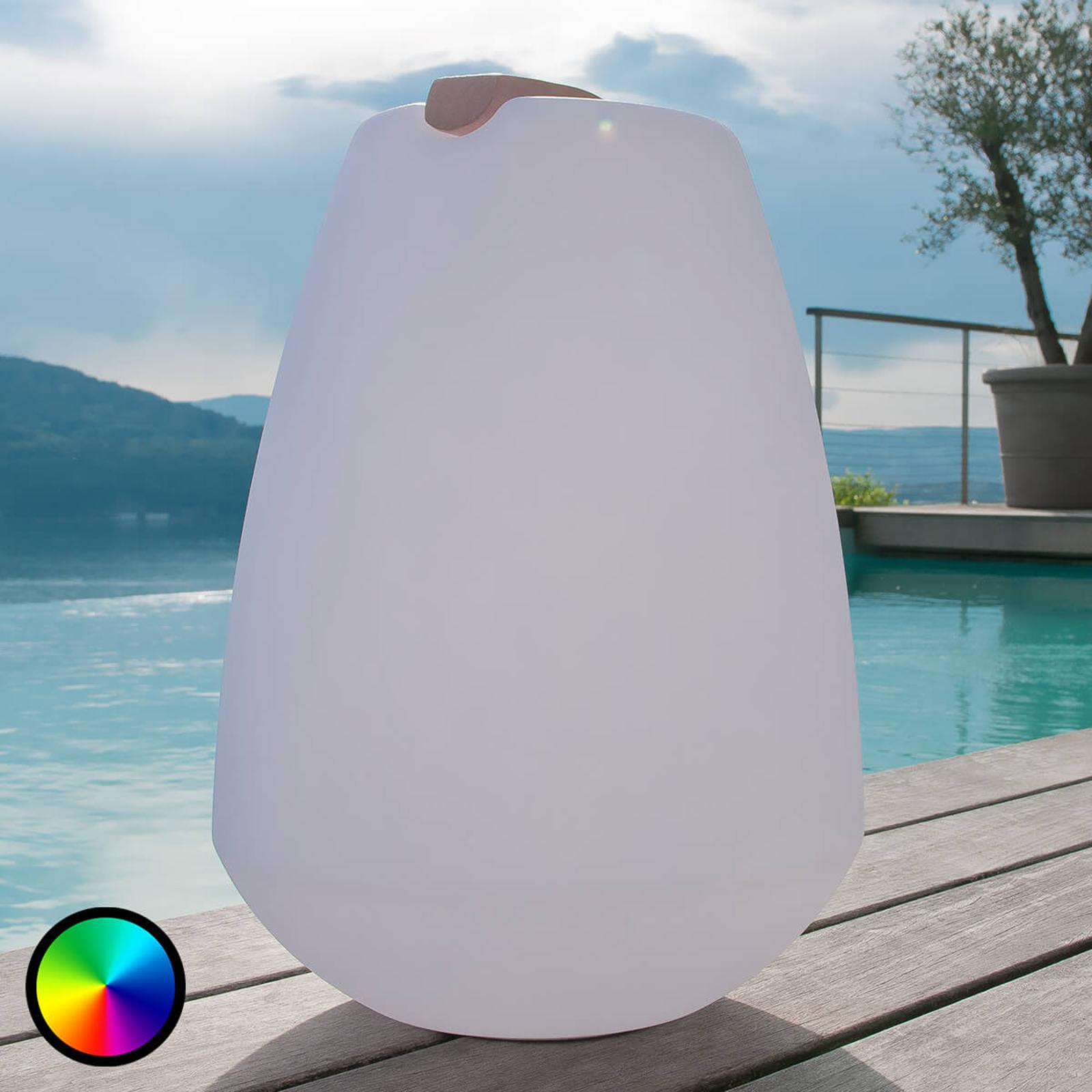 Portable LED-Dekorationsleuchte Vessel
