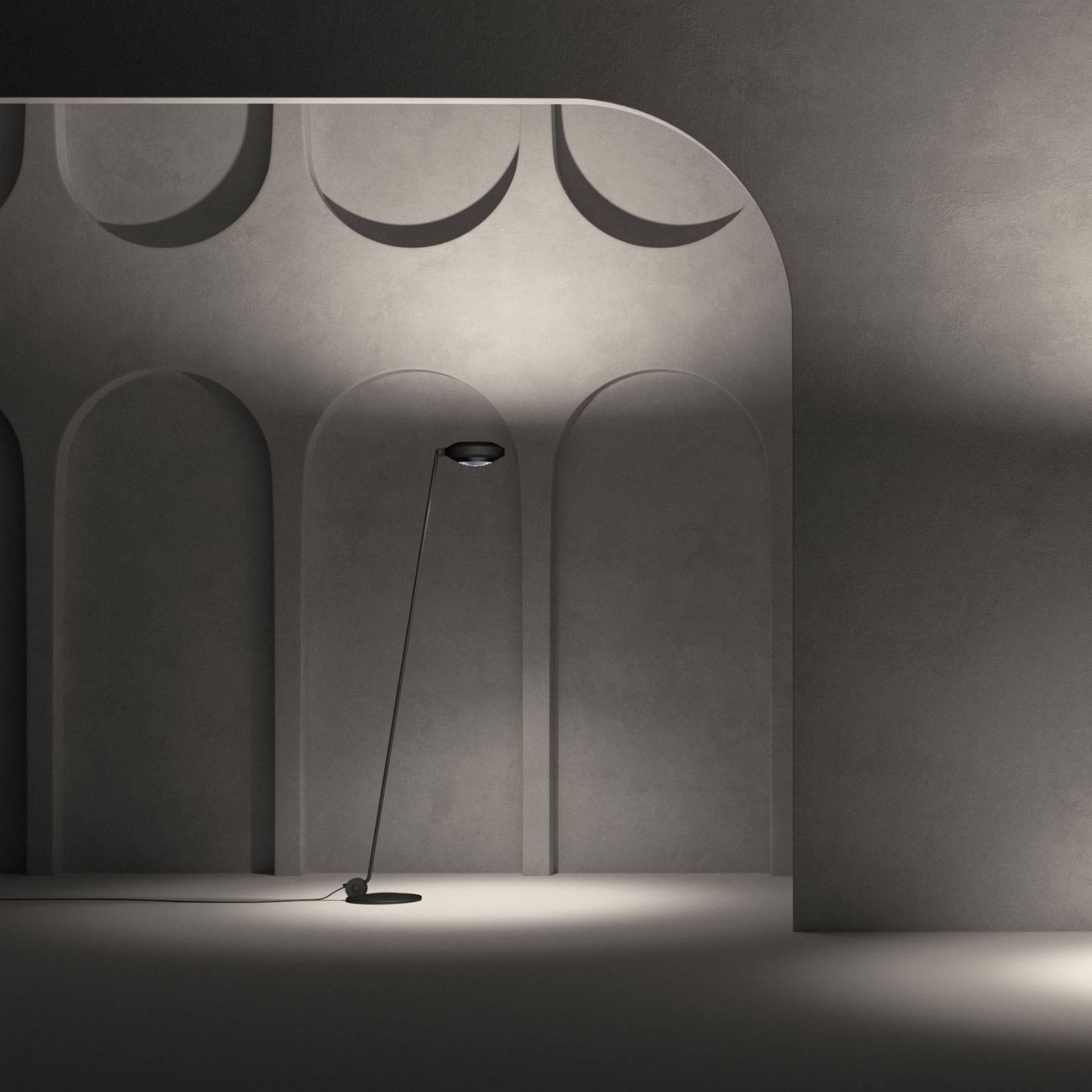 Lumina Elle 1 lampa stojąca 180cm 3000K czarna