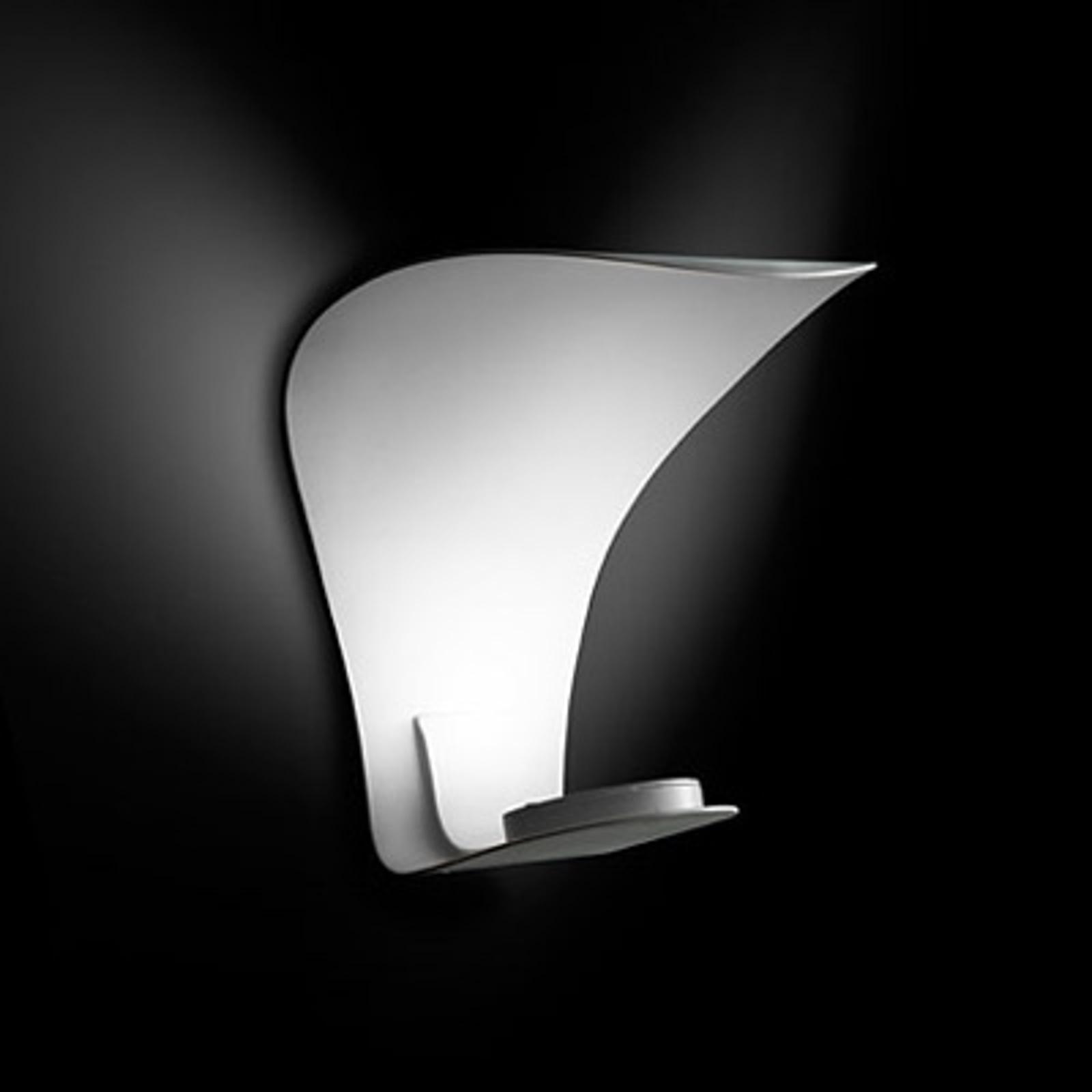 Applique a LED Voilà di design, a luce indiretta