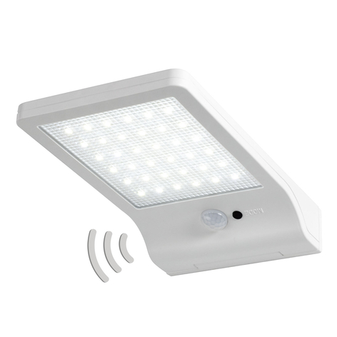 LEDVANCE DoorLED LED wandlamp zonne-energie in wit