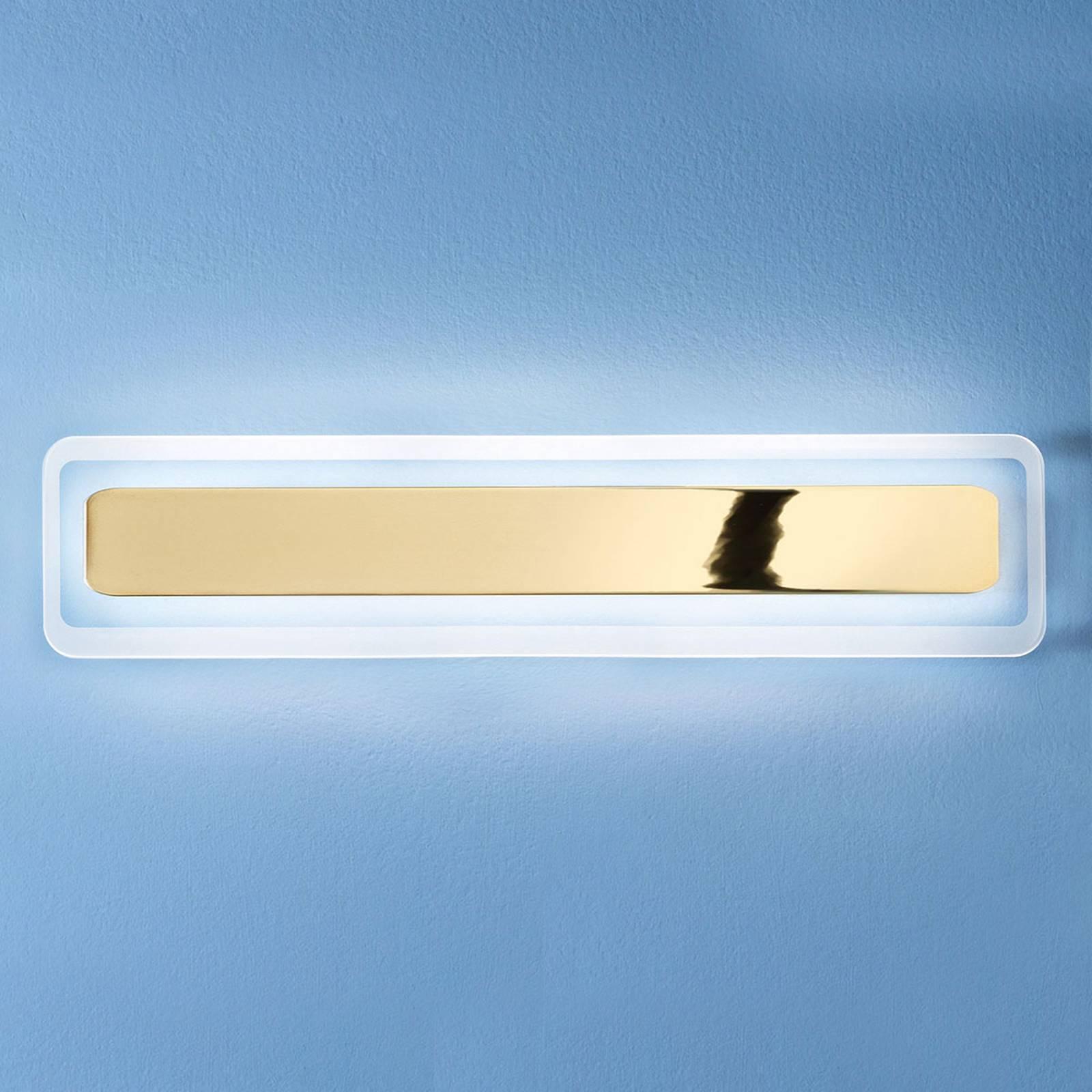 LED wandlamp Antille goud 61,4 cm