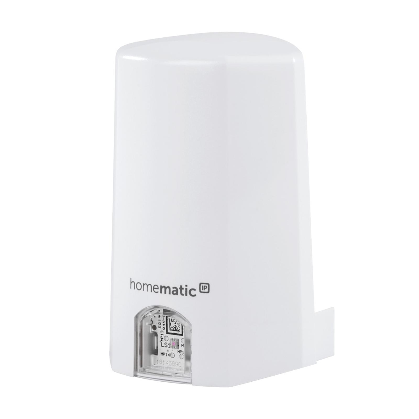 Homematic IP-lyssensor, beskyttet uteareal