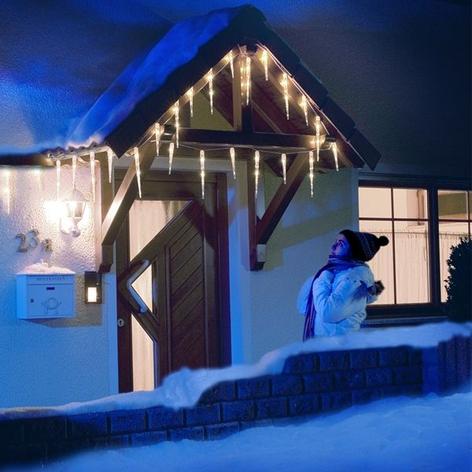 Jääpuikko-LED-valoverho, 16puikkoa, 3,75m