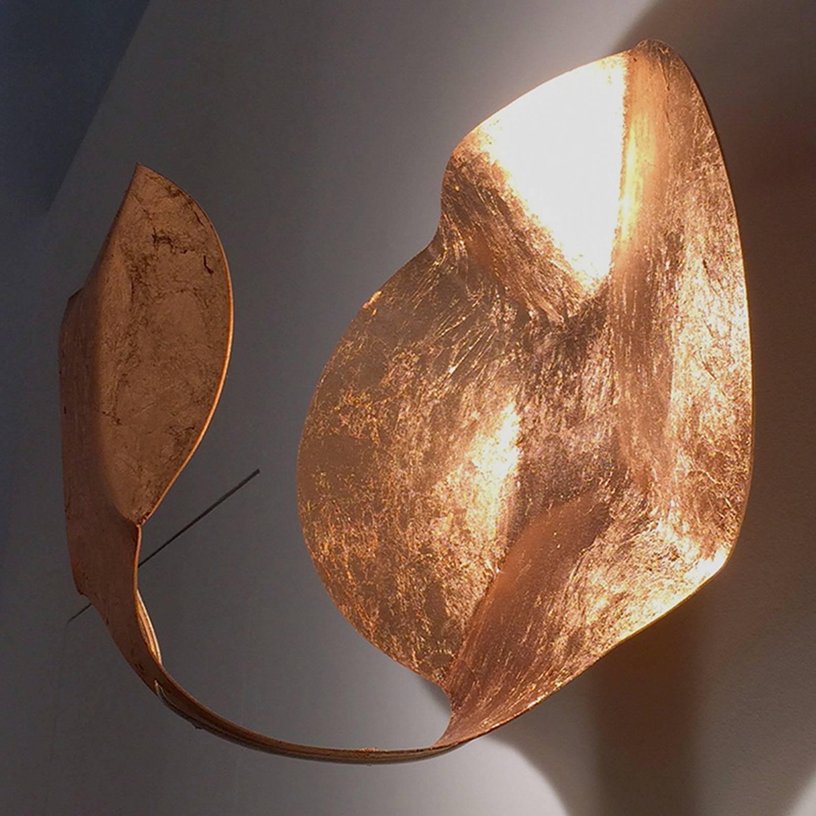 Led designer wandlamp Gi.Gi, 40 cm, brons