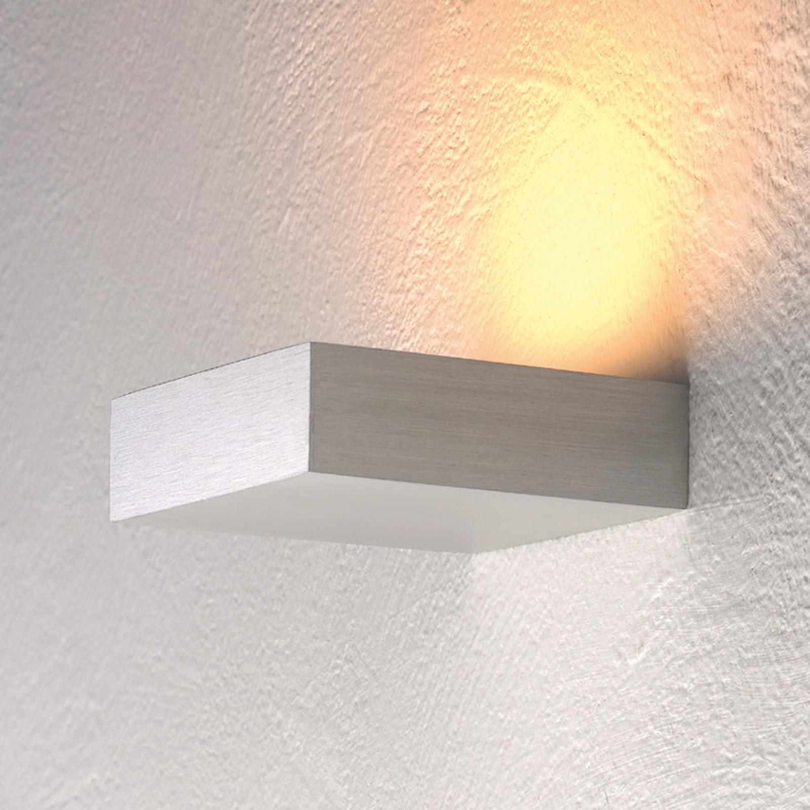 Bescheiden LED-wandspot Cubus