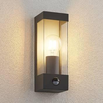 Lindby Tilian Außenwandlampe mit Bewegungsmelder