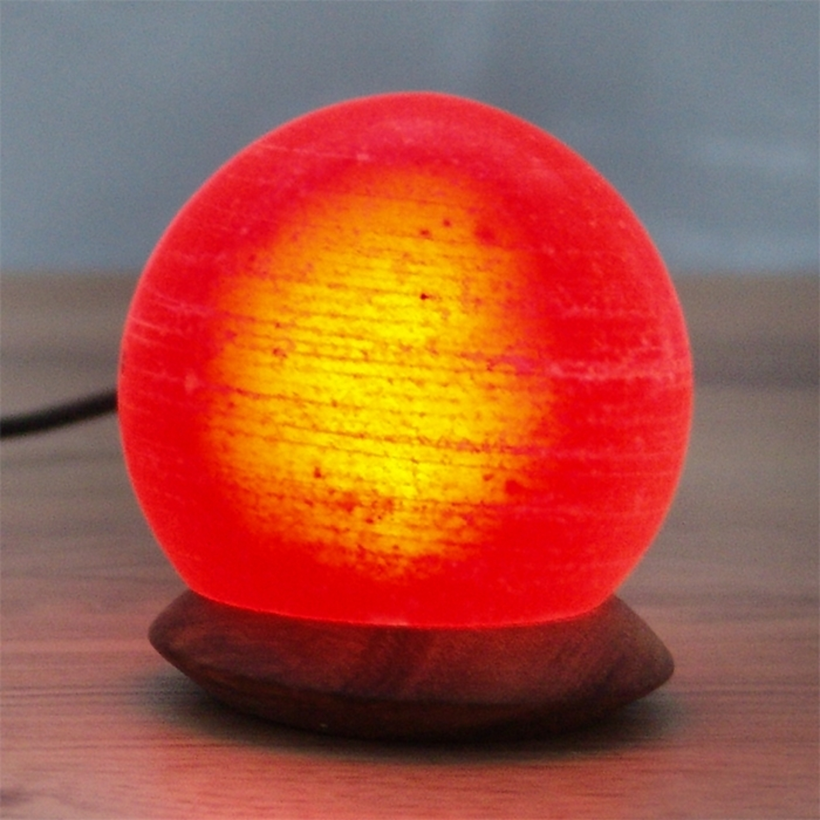 Bordlampe Ball USB til datamaskin og laptop