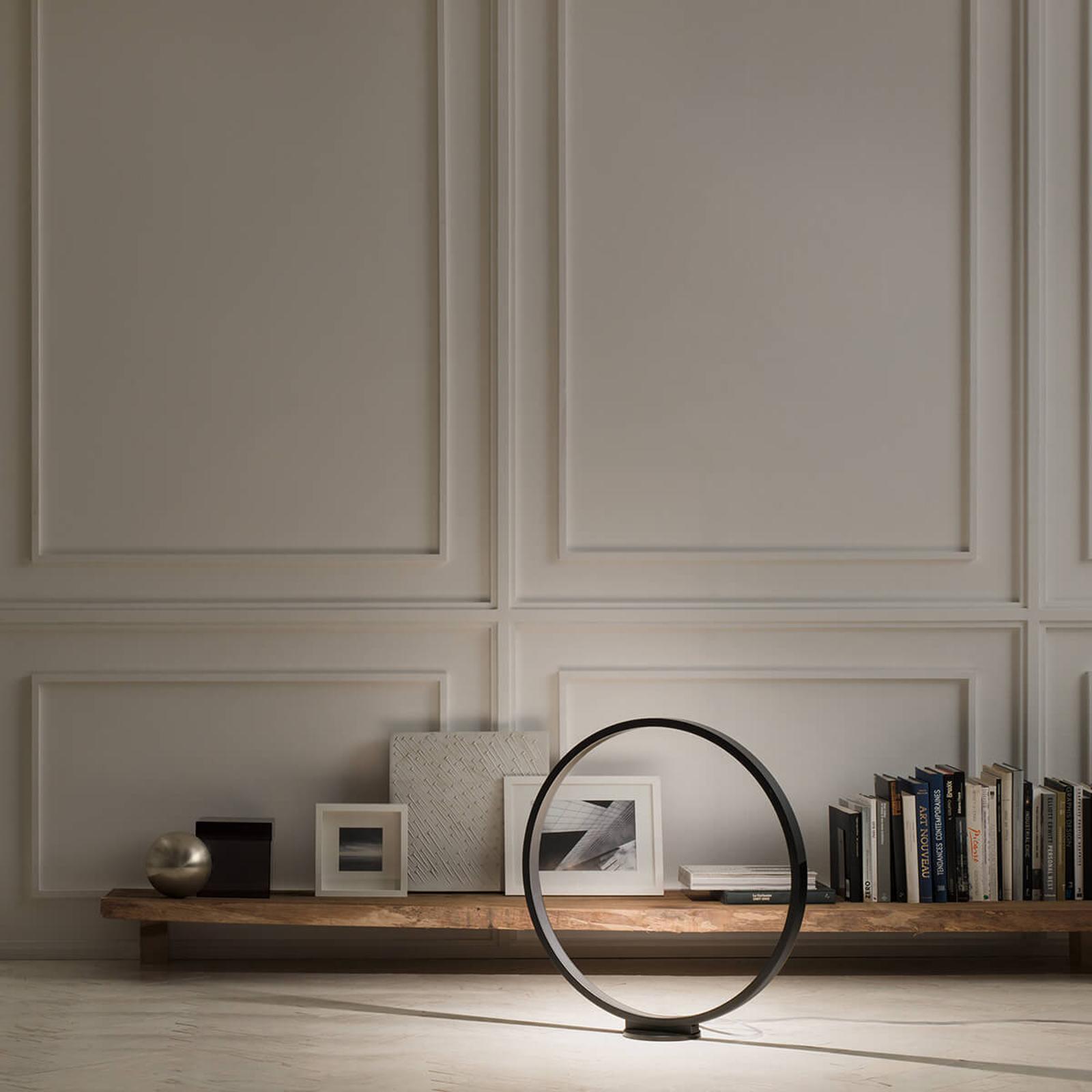 70cm – LED-golvlampa Assolo med dimmer
