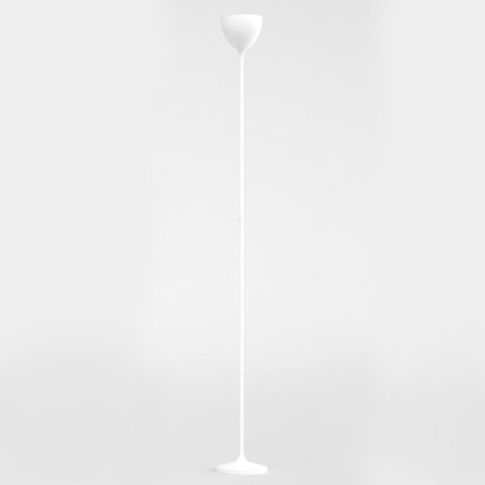 Rotaliana Drink lampada LED da terra, bianco opaco