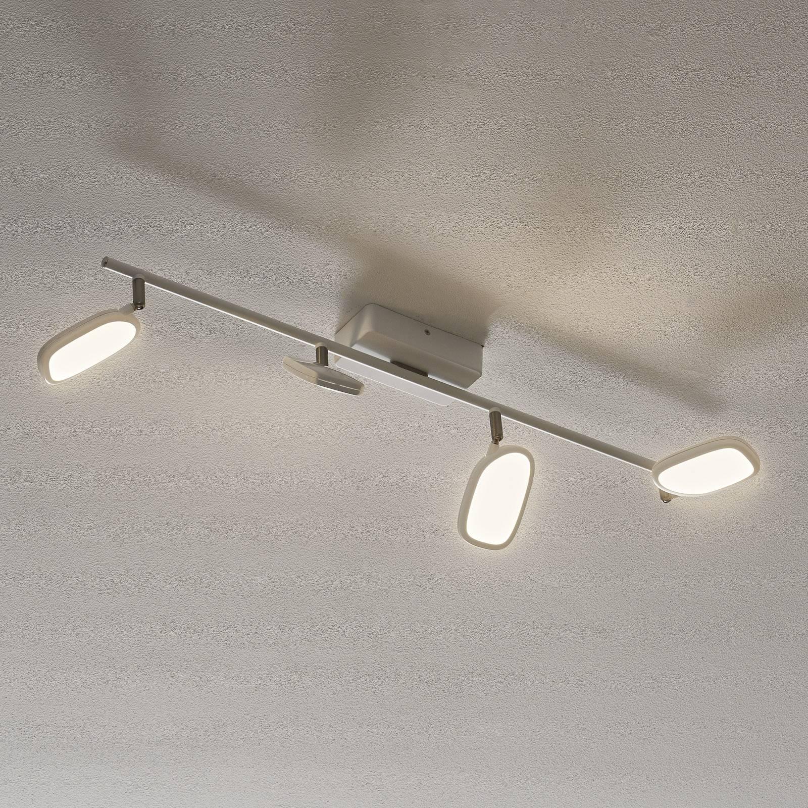 EGLO connect Palombare-C LED plafondlamp 4-lamps