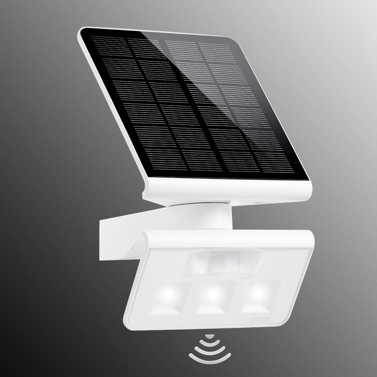 STEINEL XSolar L-S Solar-LED-Außenwandlampe weiß