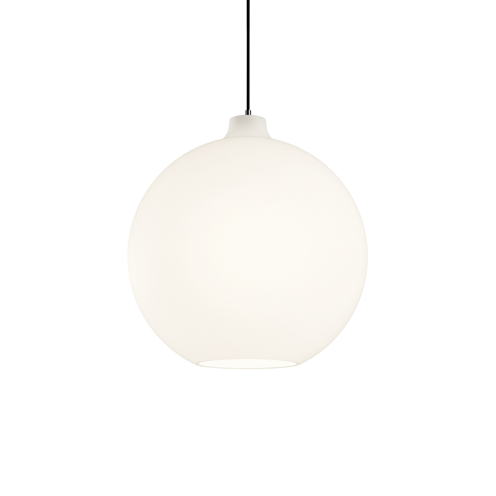 Louis Poulsen Wohlert glas-hanglamp Ø 35 cm