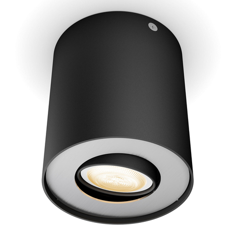 Philips Hue Pillar foco LED dimmer, negro