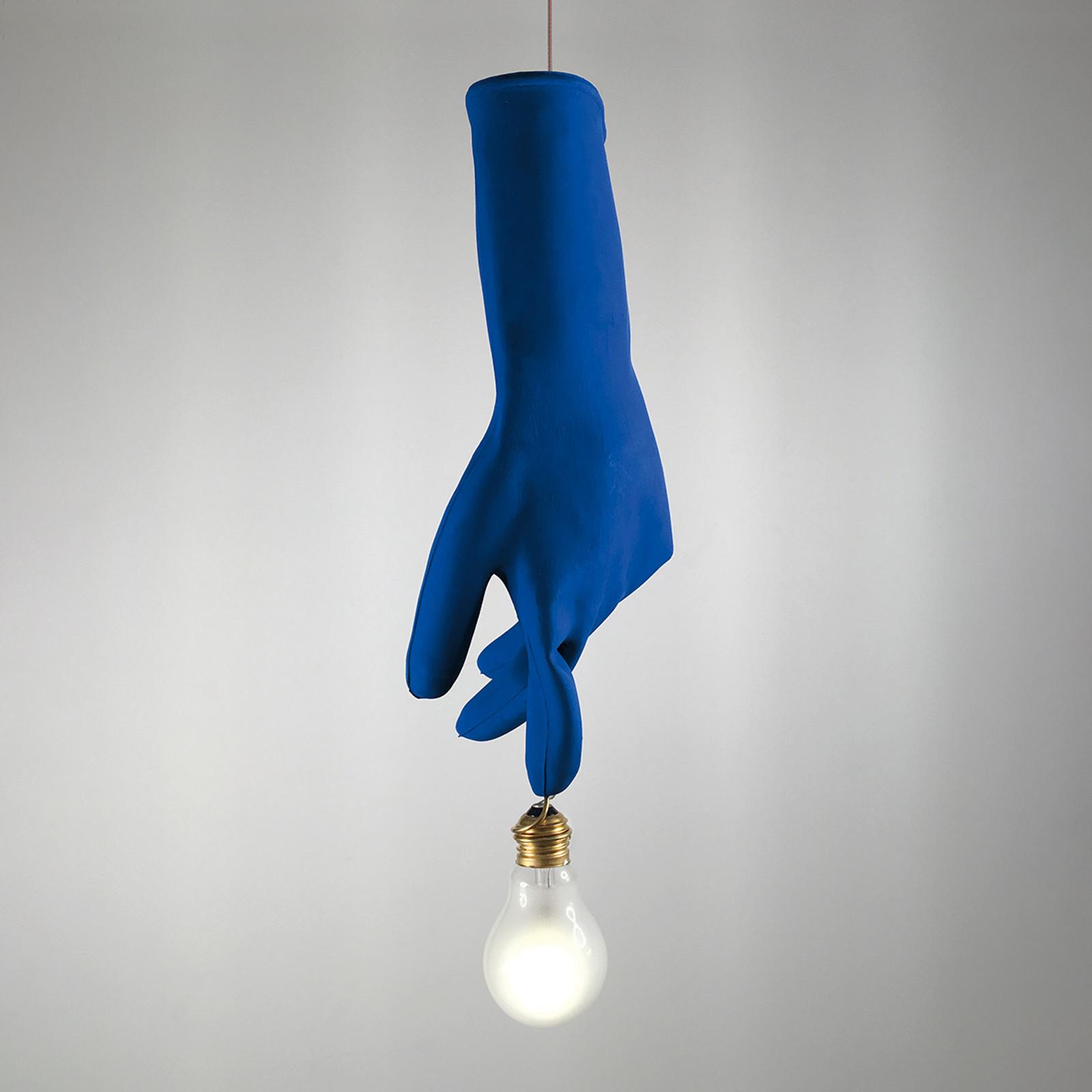 Ingo Maurer Blue Luzy LED-Hängeleuchte blau