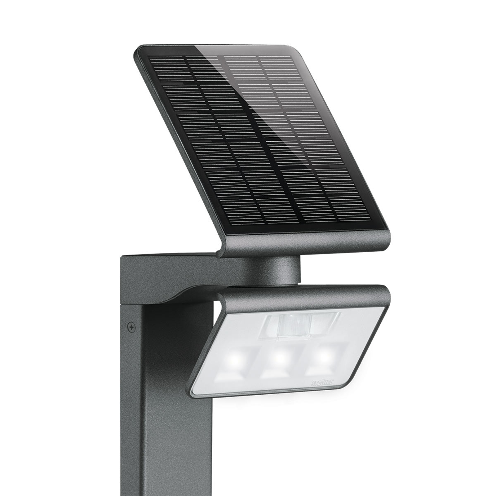 STEINEL XSolar Professional LED-pylväsvalo tunnis.