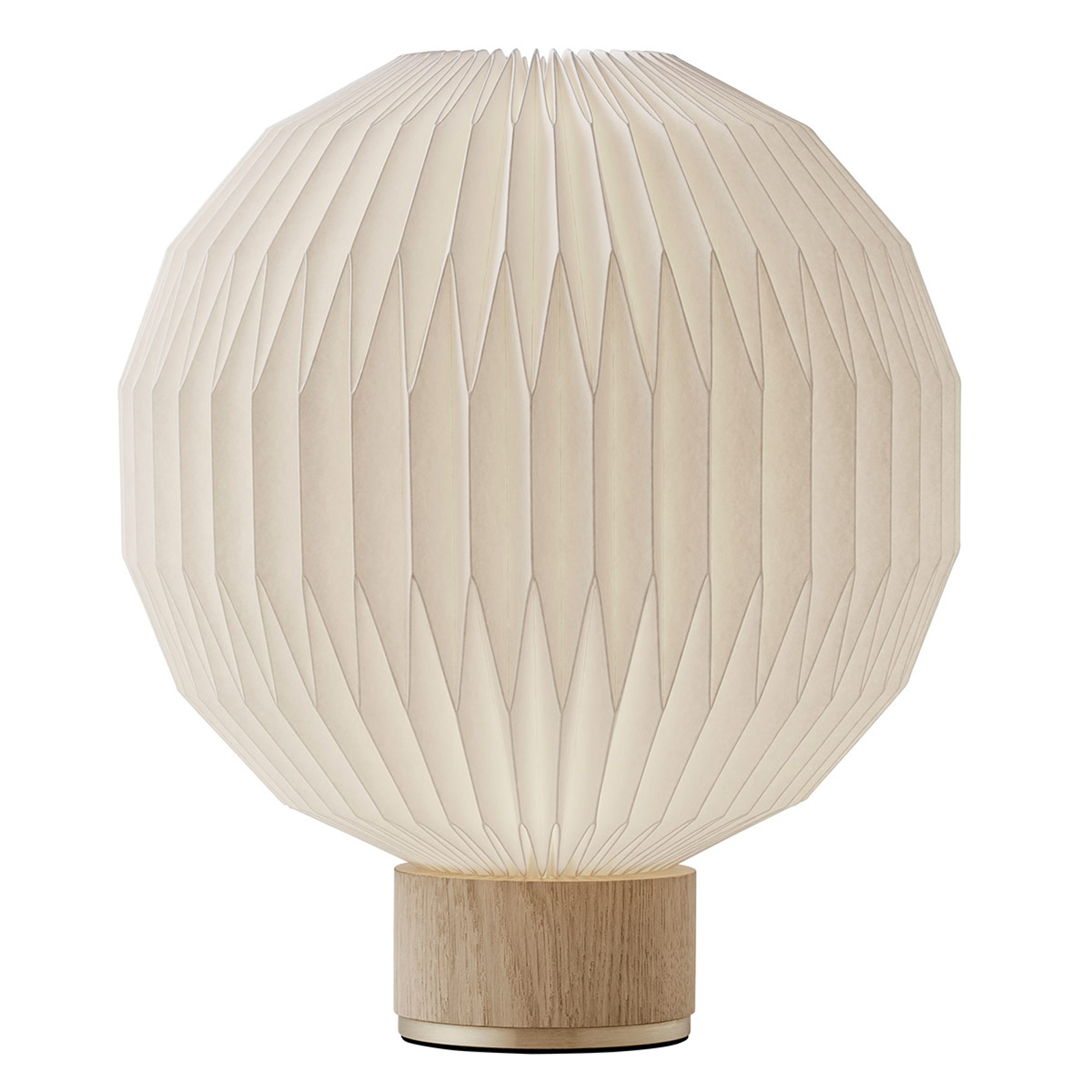 LE KLINT 375 tafellamp papieren kap 38 cm