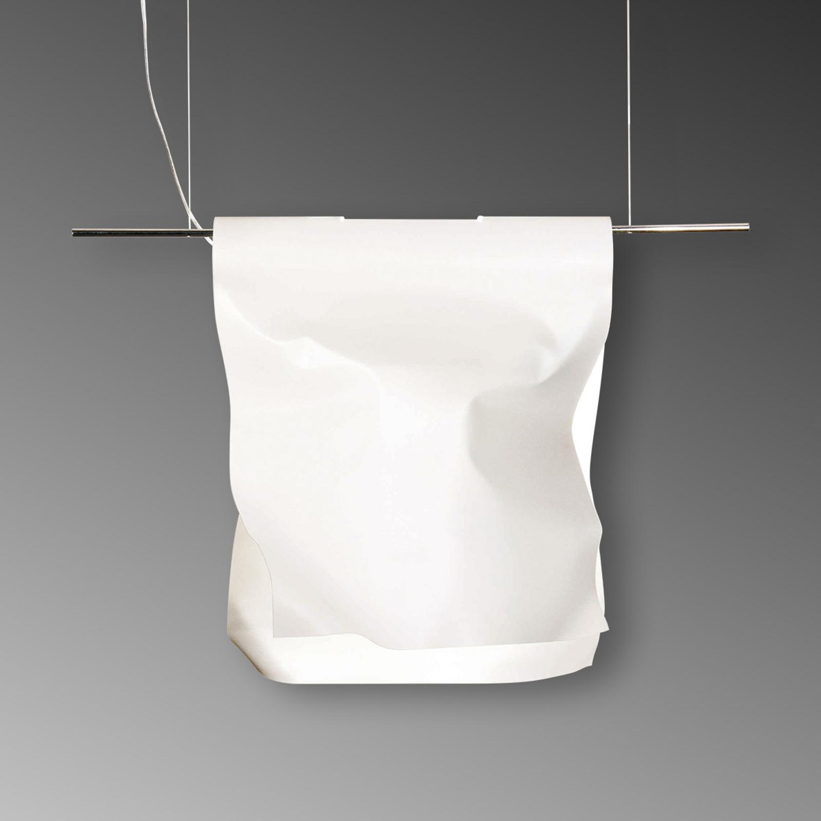 Witte hanglamp Stendimi, 40 cm